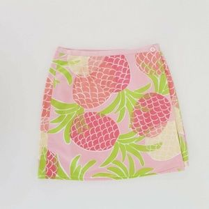 Lilly Pulitzer Skirt Size 6 Kids Girls Reversible
